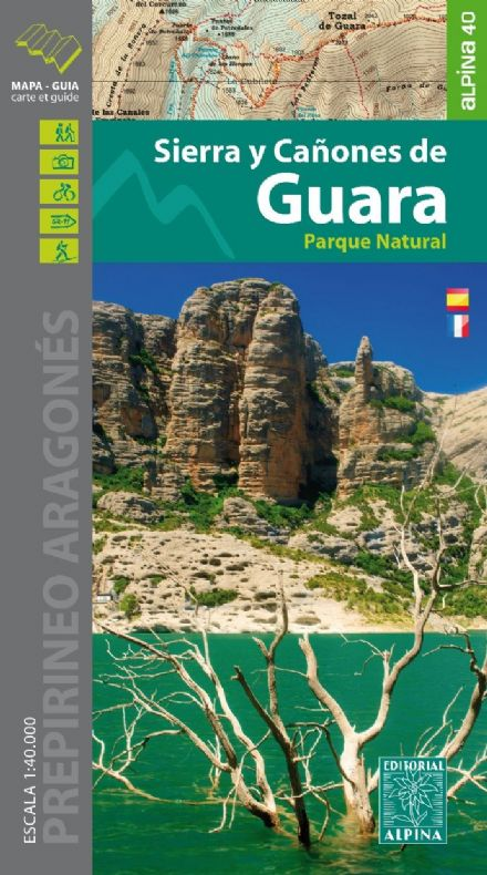 Sierra y Canones de Guara PN Editorial Alpina 1:40,000 - 280